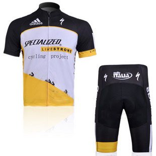 Review 2012 Style LIVESTRONG cycling jersey Set short-sleeved jersey tenacious life/Perspiration bre...