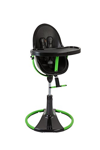 Bloom Fresco Chrome Giro, Black/Green