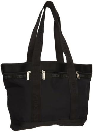 LeSportsac Medium Travel Tote,Black,One Size