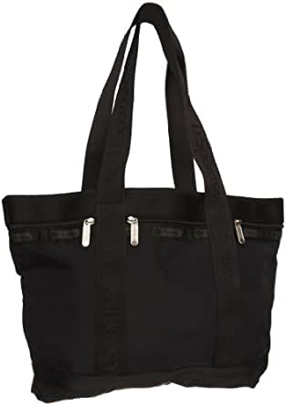 LeSportsac Medium Travel Tote, Black, One Size: Handbags: Amazon.com