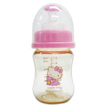 Hello Kitty Baby PES Feeding Bottle 4.7 Oz 140ml BPA Free - 1