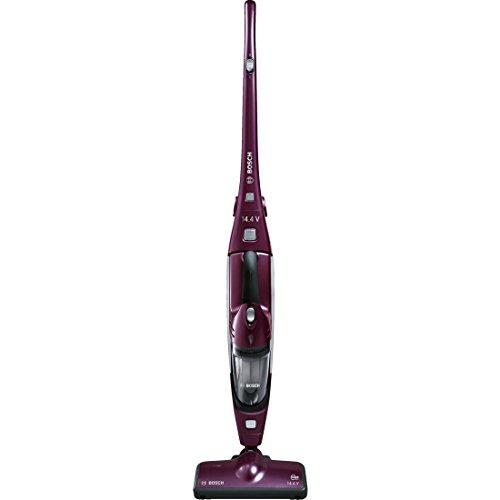 Bosch Move 2in1-Aspirateur balai rechargeable et aspirateur à main, couleur violet et gris