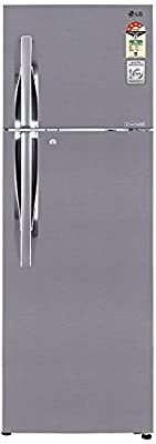 LG GL-D372JPZL Frost-free Double-door Refrigerator (335 Ltrs, 4 Star Rating, Shiny Steel)