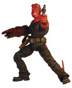 Picture of Mezco Hellboy Figure Stealth Outfit (B000SNDJ7A) (Mezco Action Figures)