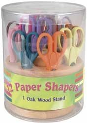 Armada 12 pc. Paper Shapers With Oak Stand - Set 2 New Designs
