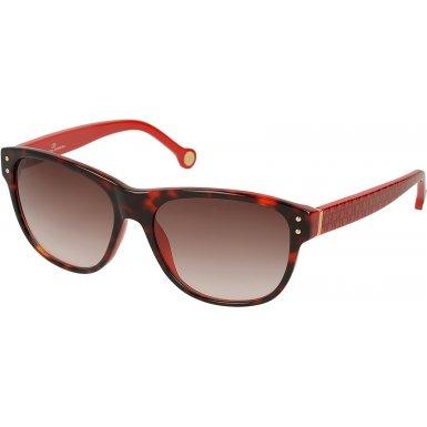 Carolina Herrera SHE577-04AU Ladies SHE577-04AU Red Tortoiseshell Sunglasses