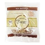 Uncooked Flour Tortillas Fresca 8 Inch 44 Count In Pack ~ Tortillas Fresca