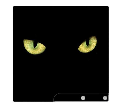 Cat Eyes Decorative Protector Skin Decal Sticker for PlayStation 3 PS3 SLIM Console
