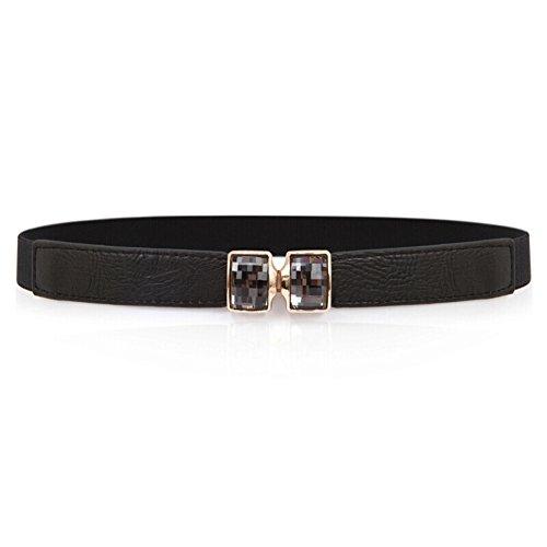 Moda strass cinture/Abito con cintura elastica/Cintura semplice Joker-I 60cm(24inch)
