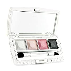 Jewel Crystal Eyes N Palette (4xEye Color 1xApplicator) - # 04 Romantic Onyx - 6g/0.21oz