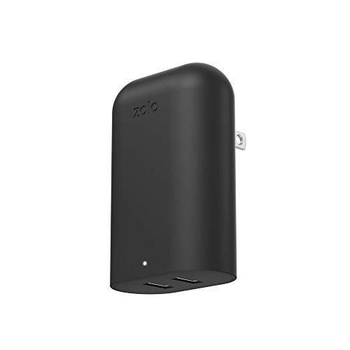 Anker® Zolo 20W 2ポート マグネットUSB急速充電器 折畳式コンセント搭載 コンパクトサイズ (カーボン)