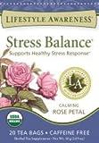 Stress Balance calming holy basil caffeine free 20 tea bags 30g (1.05 oz)