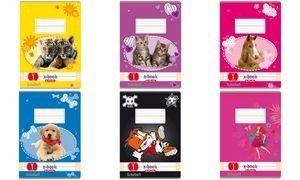 Herlitz Schulheft 3er-Pack DIN A5 16 Blatt / Lineatur 01 (liniert) 1. Schuljahr / CO² reduziert (holzfreies Papier, 80g/m² weiß)