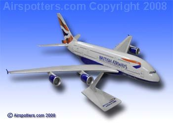 premier-planes-sm38064wb-british-airways-airbus-a380-1250-clip-together-model