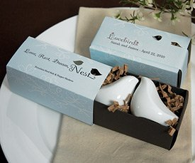 Love Bird Salt &amp; Pepper Shakers in Gift Package