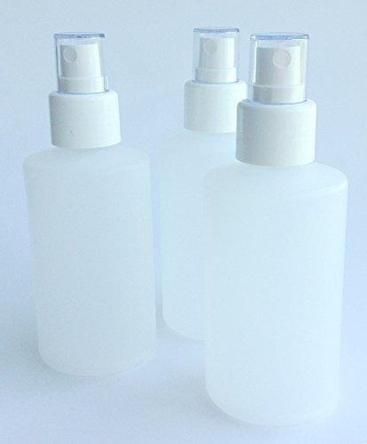 3-luzente-Kunstoff-Flaschen-mit-Sprhkopf-Sprhflaschen-leer-rund-halbtransparent-150-ml-3-150-ml