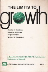 Cover of &quot;The Limits to growth: A report ...