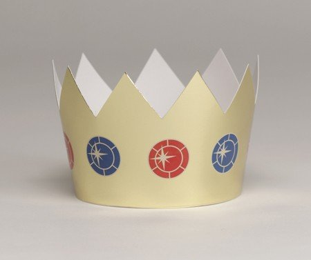 Gold Foil Crowns (6 count)