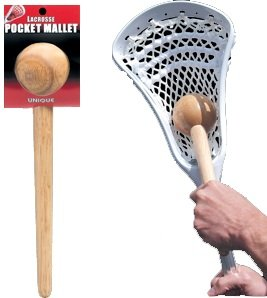 Unique Sports Lacrosse Stick-Head Wood Pocket