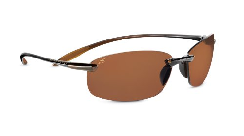 Serengeti Nuvino Polar Sunglasses,Shiny Brown with Drivers Lenses