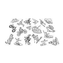 Shrinky Dinks Fun Pack Refill - Extreme Sports