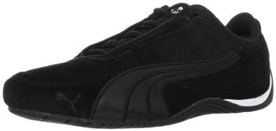 Puma Drift Cat 4 Suede 304092, Unisex-Erwachsene Sneaker, Schwarz (black-puma silver 05), EU 44.5 (UK 10) (US 11)