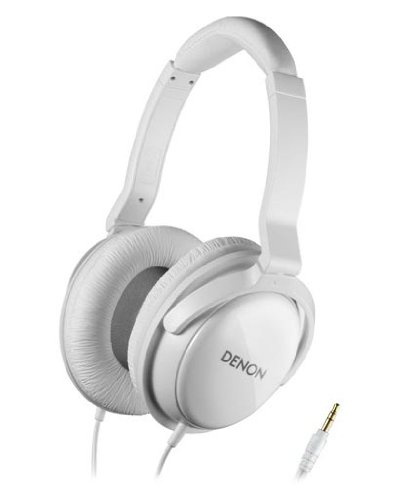 Denon Ah-D310 White | Over-Ear Stereo Headphones (Japan Import)