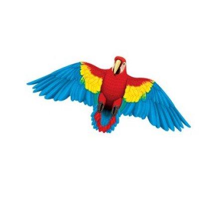 Wildlife Macaw Parrot Bird Wing Flapper Kite - 55