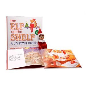 The Elf on the Shelf - Blue Eyed Boy - Book