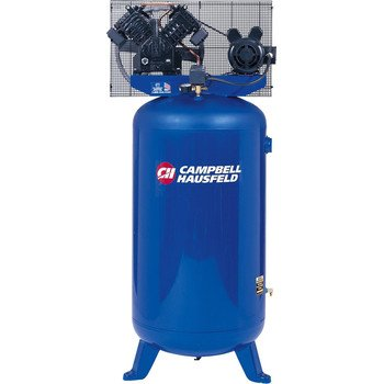 Campbell Hausfeld TQ3104 5-HP 4-Cylinder Dual-Voltage Single-Stage Air Compressor (80 Gallon Tank), Stationary