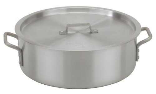 Royal Industries ROY BRAZ 24  24 Qt Heavy-Weight Aluminum Brazier