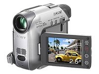 Sony DCR-HC22E Handycam MiniDV Camcorder [20x Optical Zoom, 2.5