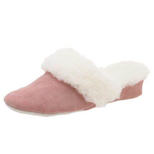 Cheap Jacques Levine Women's Patti Suede/Shearling Scuff Slipper (B000HQKWA0)