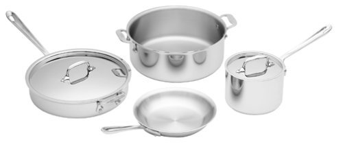 All-Clad Stainless 6-Piece Cookware Set