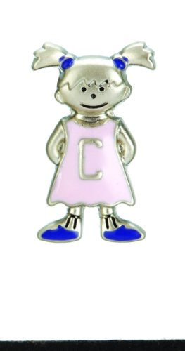 Mini My Kid's Initial Tag - Girl - C - 1