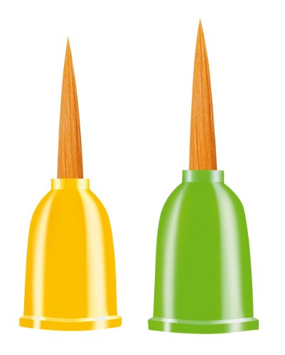 Da Vinci Series 5090 Paintfinger, 2-Pack, Small And Medium, Round front-85659