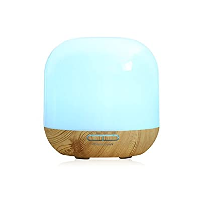 Excelvan 300ml Essential Oil Aroma Diffuser Ultrasonic Humidifier Air Mist Aromatherapy Purifier