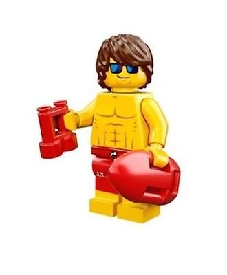 LEGO Series 12 Collectible Minifigure 71007 - Lifeguard Guy - 1