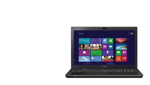 Sony VAIO S Series 15.5 Notebook Computer, Intel Core i5-3210M 2.50GHz, 6GB DDR3 RAM, 500GB 7200 RPM HDD, Windows 8 Homewards Premium 64-bit, Black