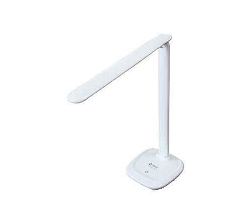 Schreibtischlampe-Leselampe-mit-verstellbarem-Kopf-Leselampe-mit-verstellbarem-Licht-integrierte-7W-LED-Birne-6000K-490-lm-Aluminium-Weiss