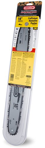Oregon 39272 18-Inch Bar And 91Vg Chain Saw Blade Combination Fits Craftsman, Homelite, Poulan