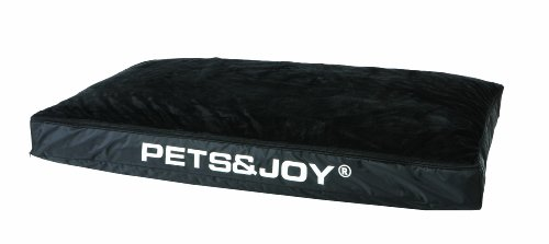 Pets-Joy-424208-Hundekissen-Dog-Bed-L-80-x-120-cm-schwarz