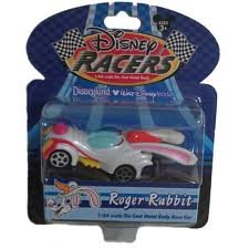 Disney Racers Roger Rabbit 1/64 Scale Die Cast Metal Body Racer