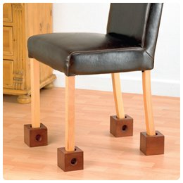 : Wooden Chair Risers - Risers - Model 565861: Health & Personal Care