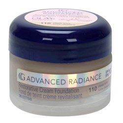 Cover Girl Advanced Radiance Age-Defying Cream Foundation, Classic Ivory, Warm Shade #110 - 1 Ea