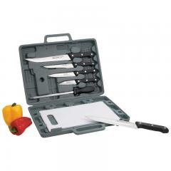 Maxam ® Knife Set With Cutting Board