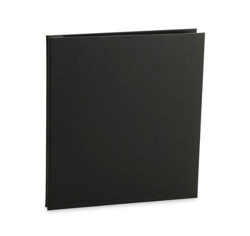 Pina Zangaro Bex 14 x 11 inch Presentation Book, Screwpost Portfolio Cover, Portrait, Black by Pina Zangaro
