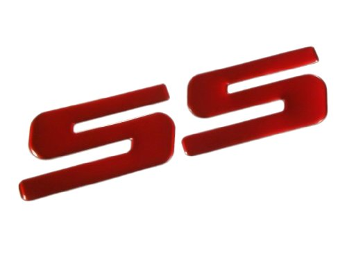 Red SS Badge Emblem Decal for Chevy Caprice Impala