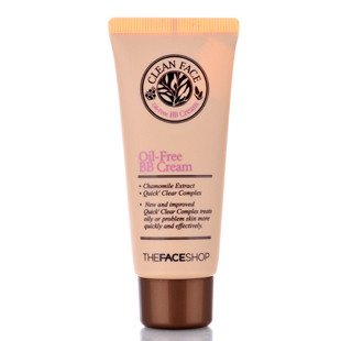 TheFaceShop Clean Face Oil Free BB Cream 35ml/Made in Korea
