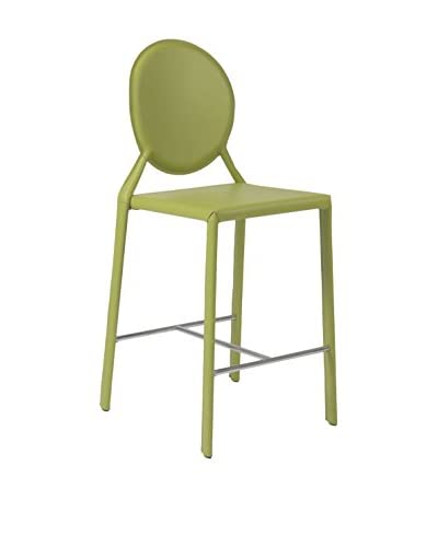 Eurostyle Isabella Counter Stool, Green